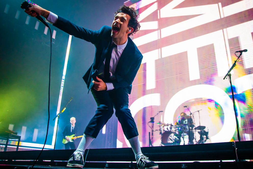 The 1975 love it that they've made it at London's O2