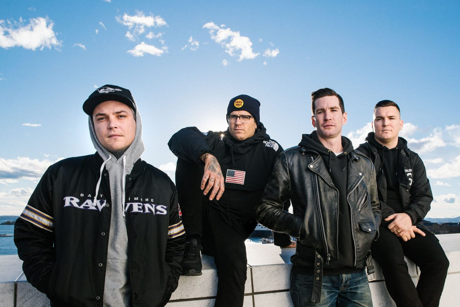 The Amity Affliction have announced their new album, 'Everyone Loves You… Once You Leave Them'