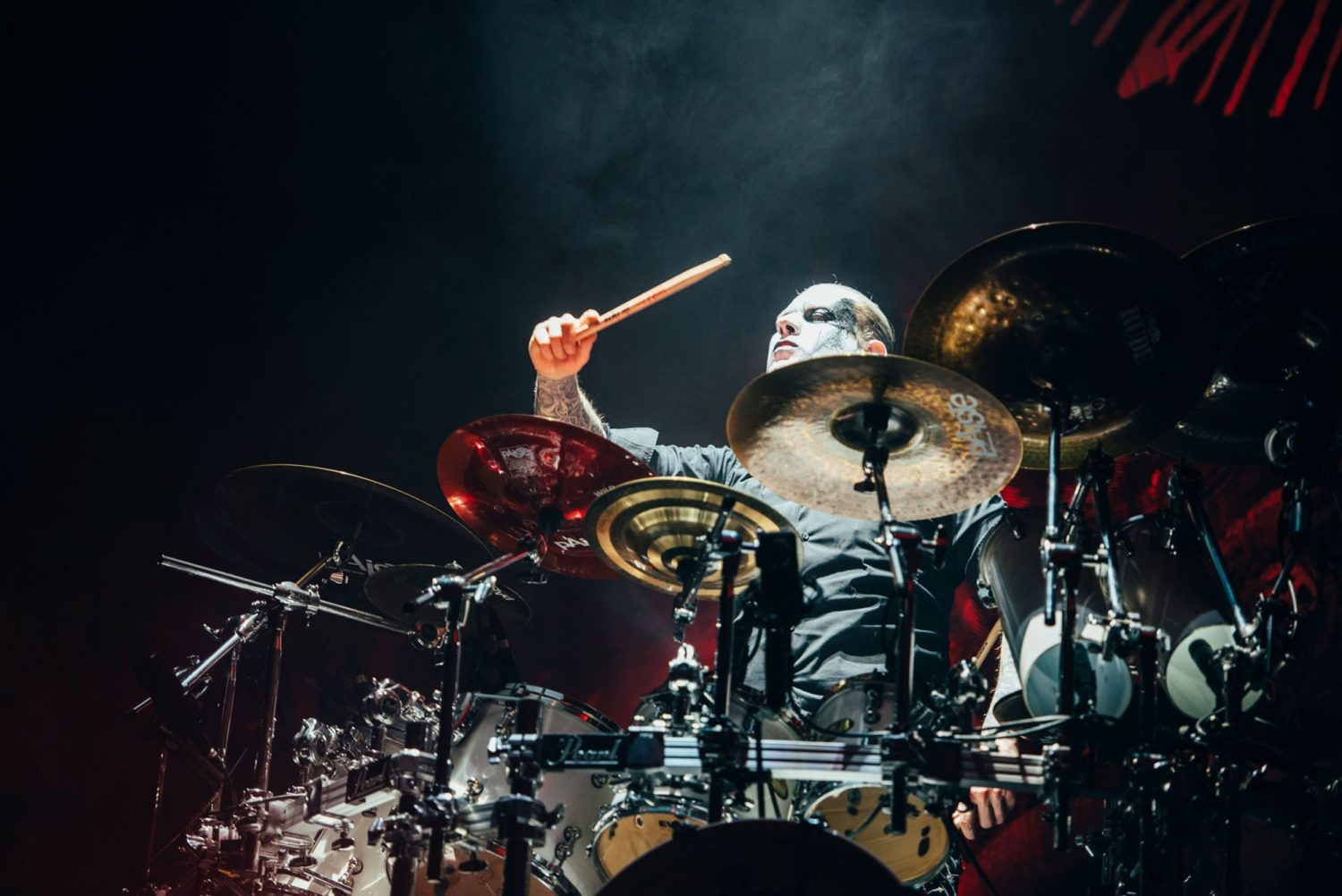 Have a gander at LOADS of photos from Slipknot and Behemoth's massive show at London's O2 Arena