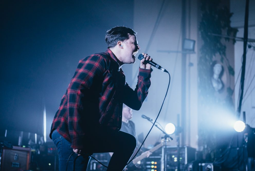 This is what Black Peaks' big day out at Brixton Academy looked like
