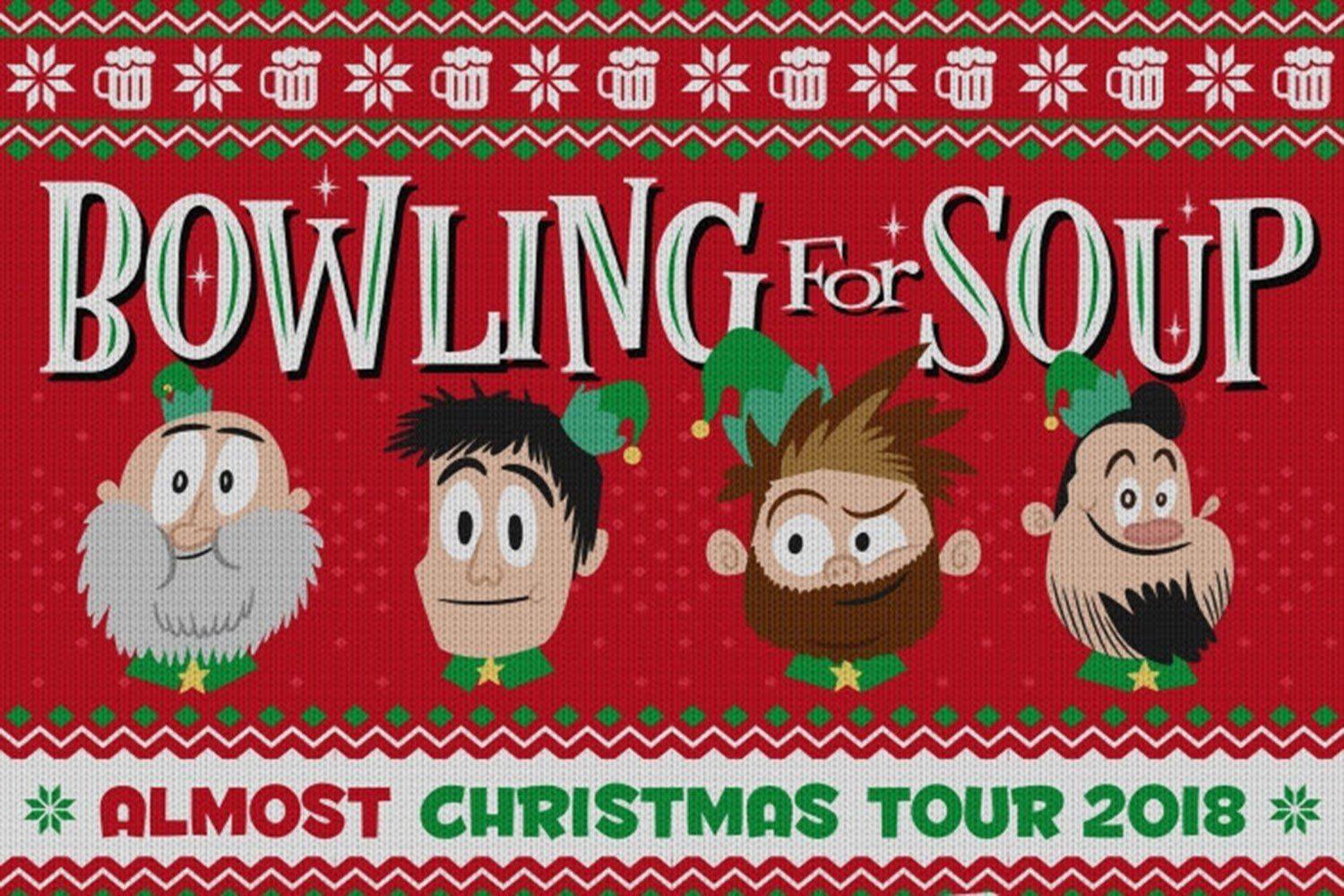 Bowling For Soup have announced a festive new UK tour