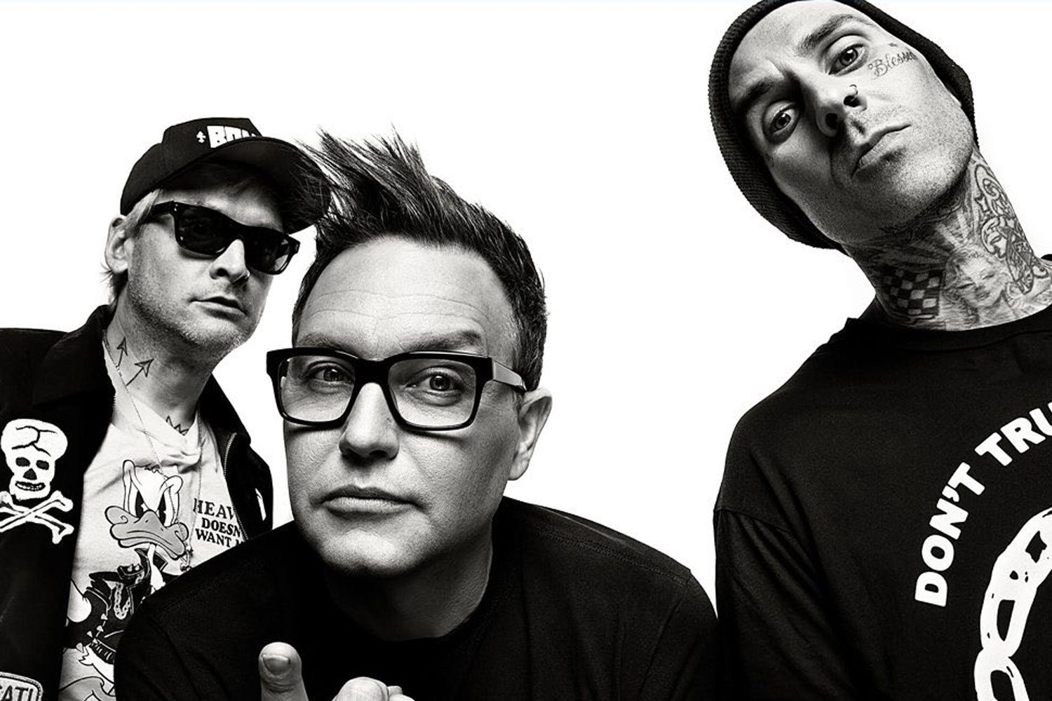 It looks like blink-182 are dropping a new track today