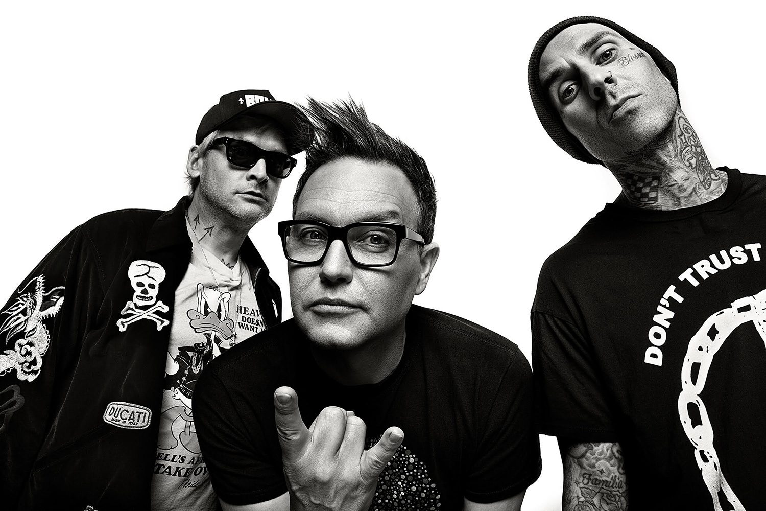 blink-182 have dropped their new single, 'Blame It On My Youth'