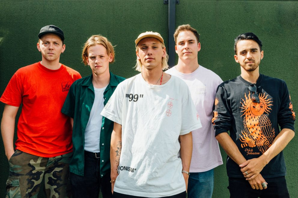"""Counterfeit.'s Jamie Campbell Bower: """"I'm excited to begin a new chapter of the band"""""""