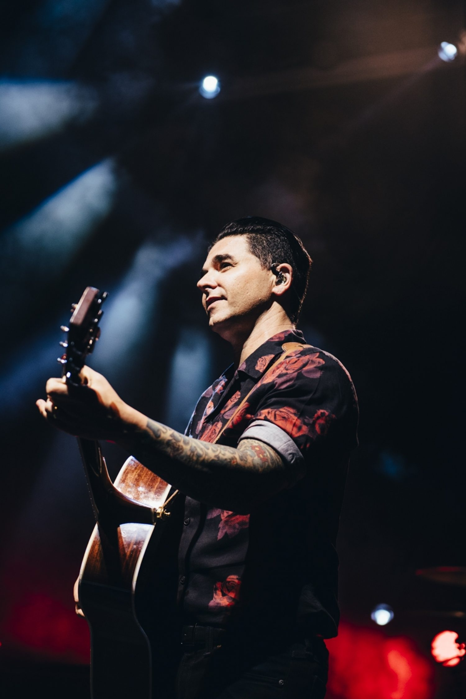 Here's Dashboard Confessional and Black Foxxes smashing London's KOKO