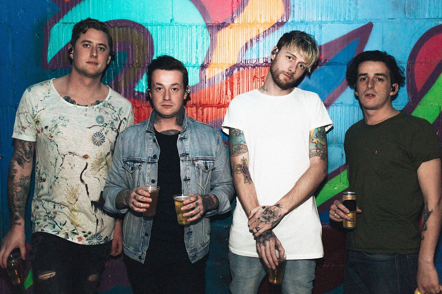 Deaf Havana are going to release a new live album this March, watch their new vid for 'Hell'