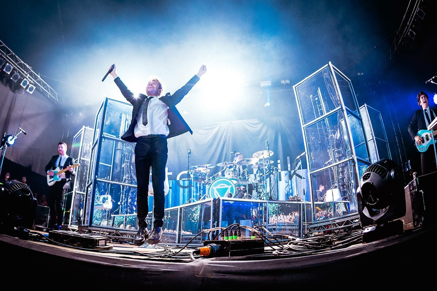 "Enter Shikari: ""We know when we want to be going in the studio..."""
