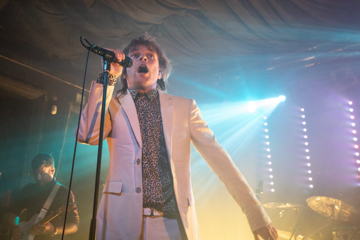 This is what Enter Shikari's little Brighton show for Nordoff Robbins looked like