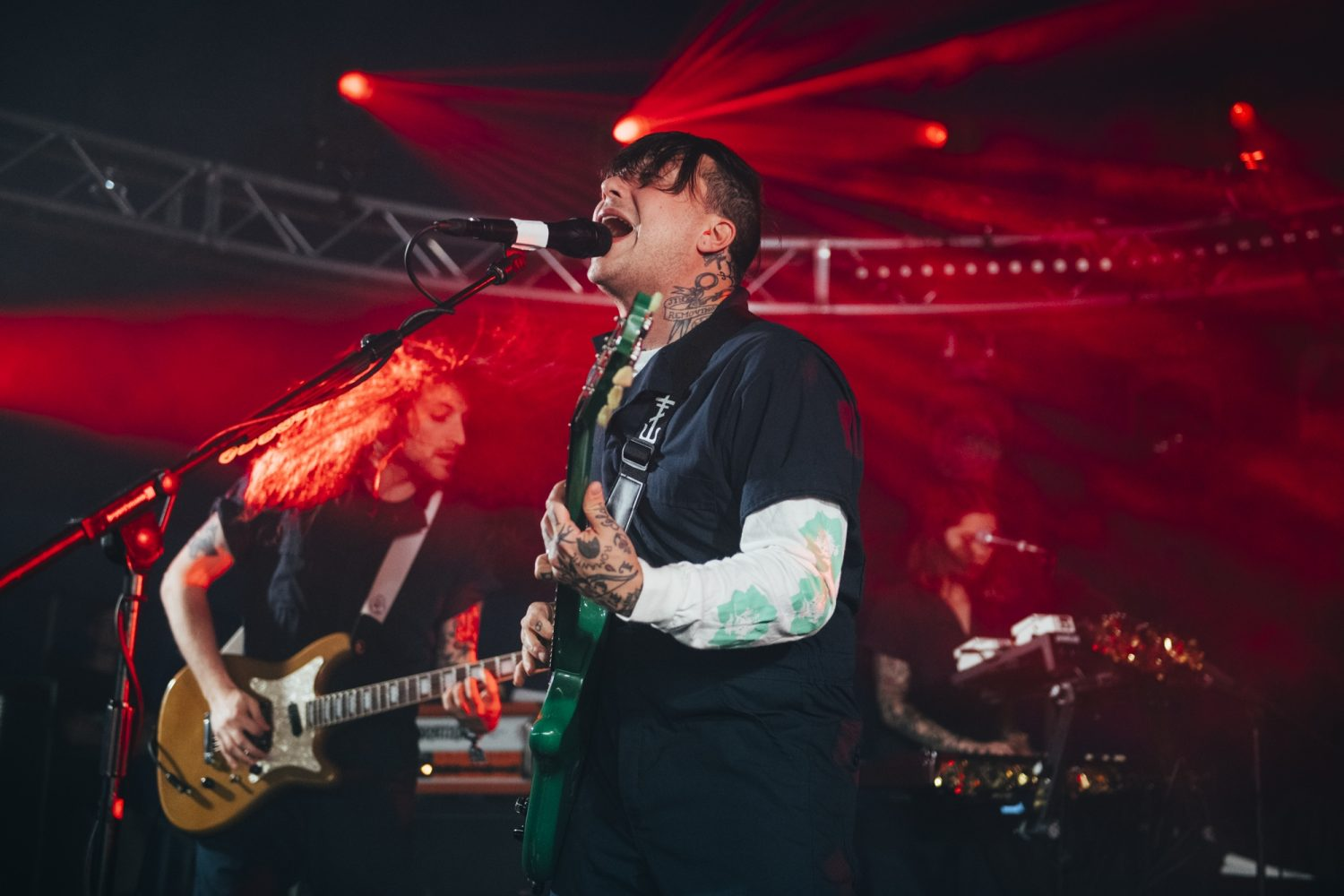 Frank Iero brings his Future Violents to this year's 2000trees