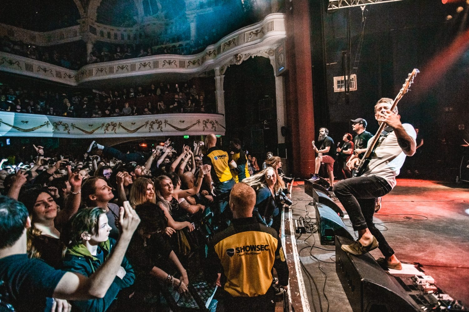 Funeral For A Friend hit London's O2 Shepherd's Bush Empire, and it looked like this