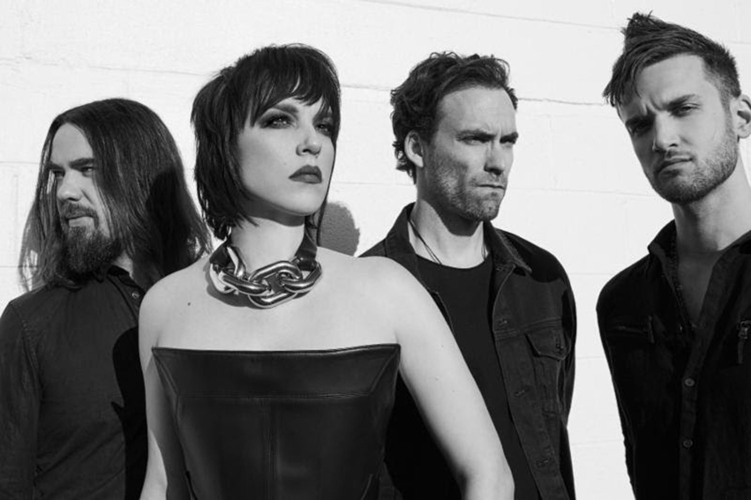 Halestorm have announced their new 'Reimagined' EP, which features both Amy Lee, and a cover of 'I Will Always Love You'