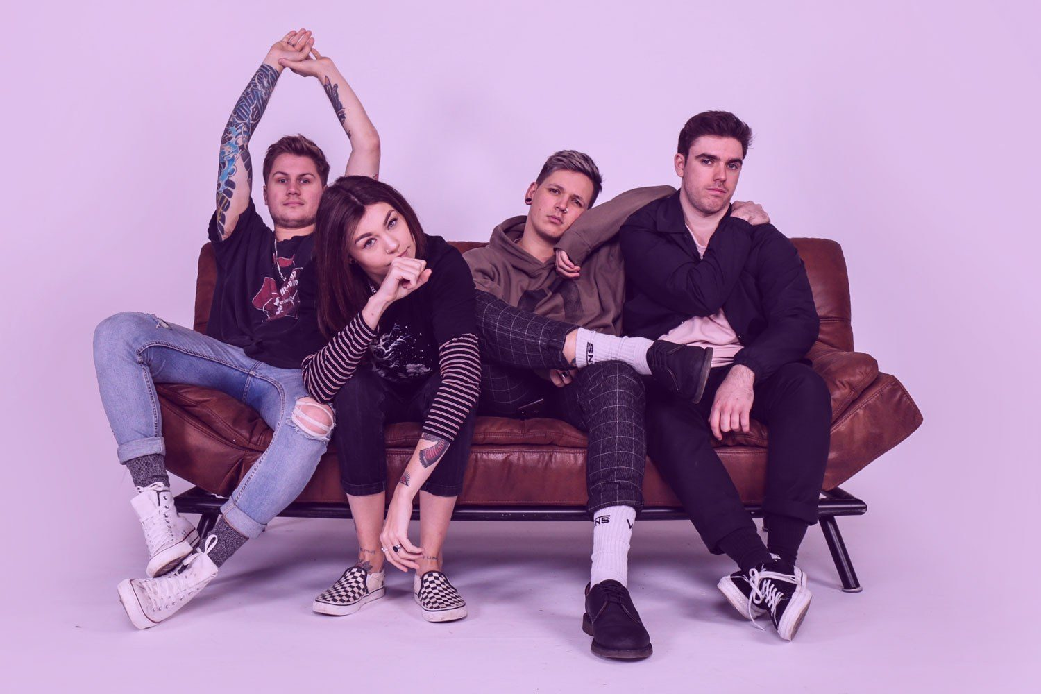 Up-and-comers Hot Milk have unveiled their debut EP, 'Are You Feeling Alive?'