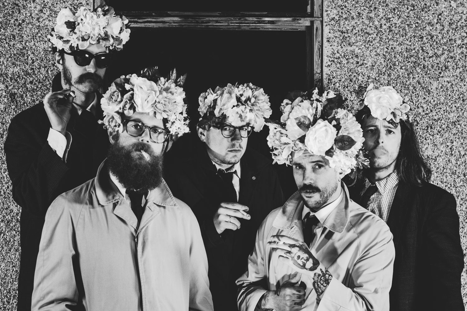 Watch IDLES perform 'Colossus' in session