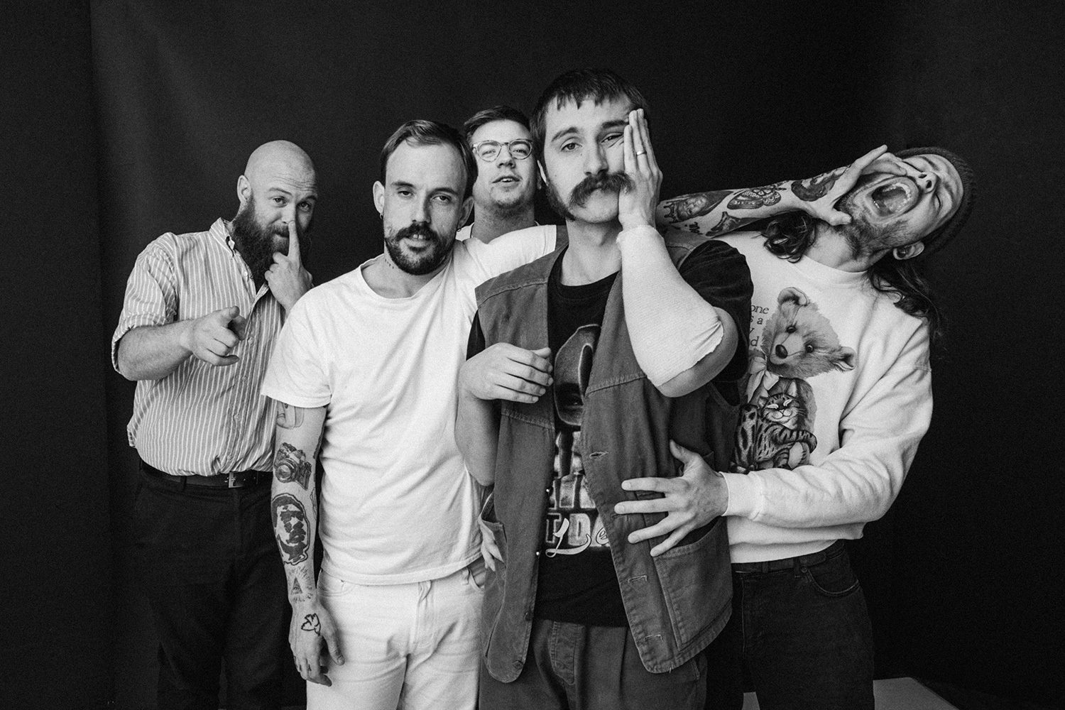 Idles are hitting the road for some UK shows in March and April 2019
