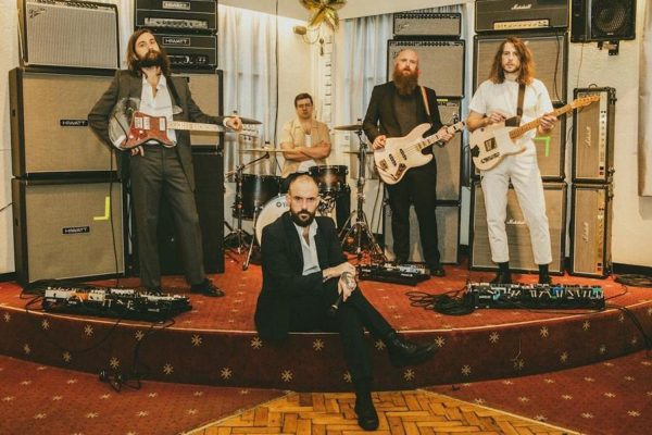 IDLES are celebrating the release of their new album with a video for 'War'