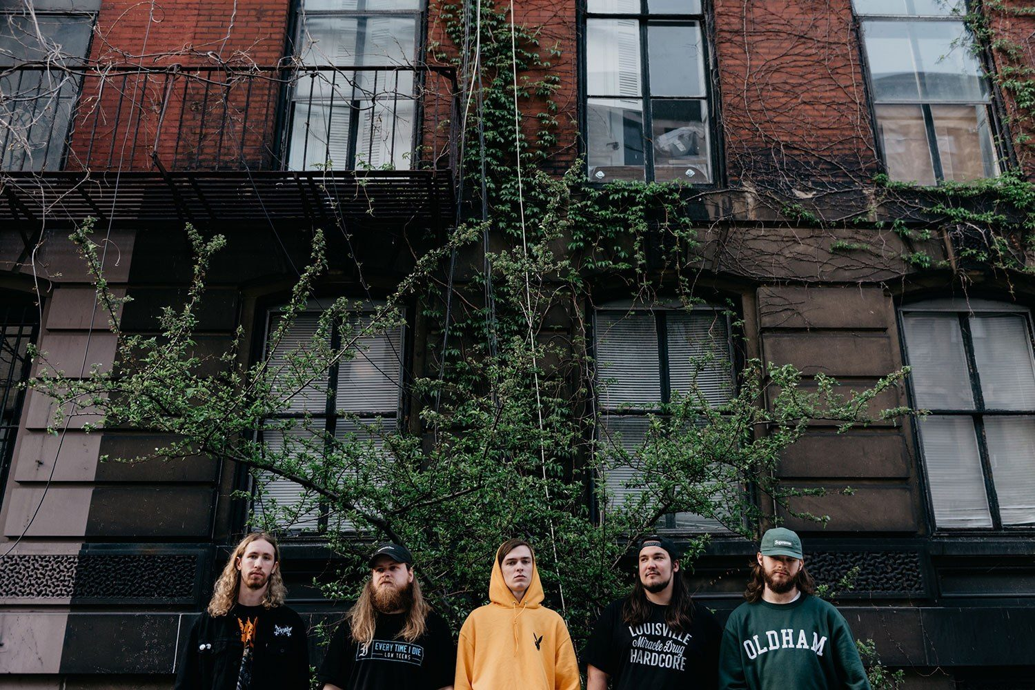 Knocked Loose get very, very wet in their new video for 'The Rain'