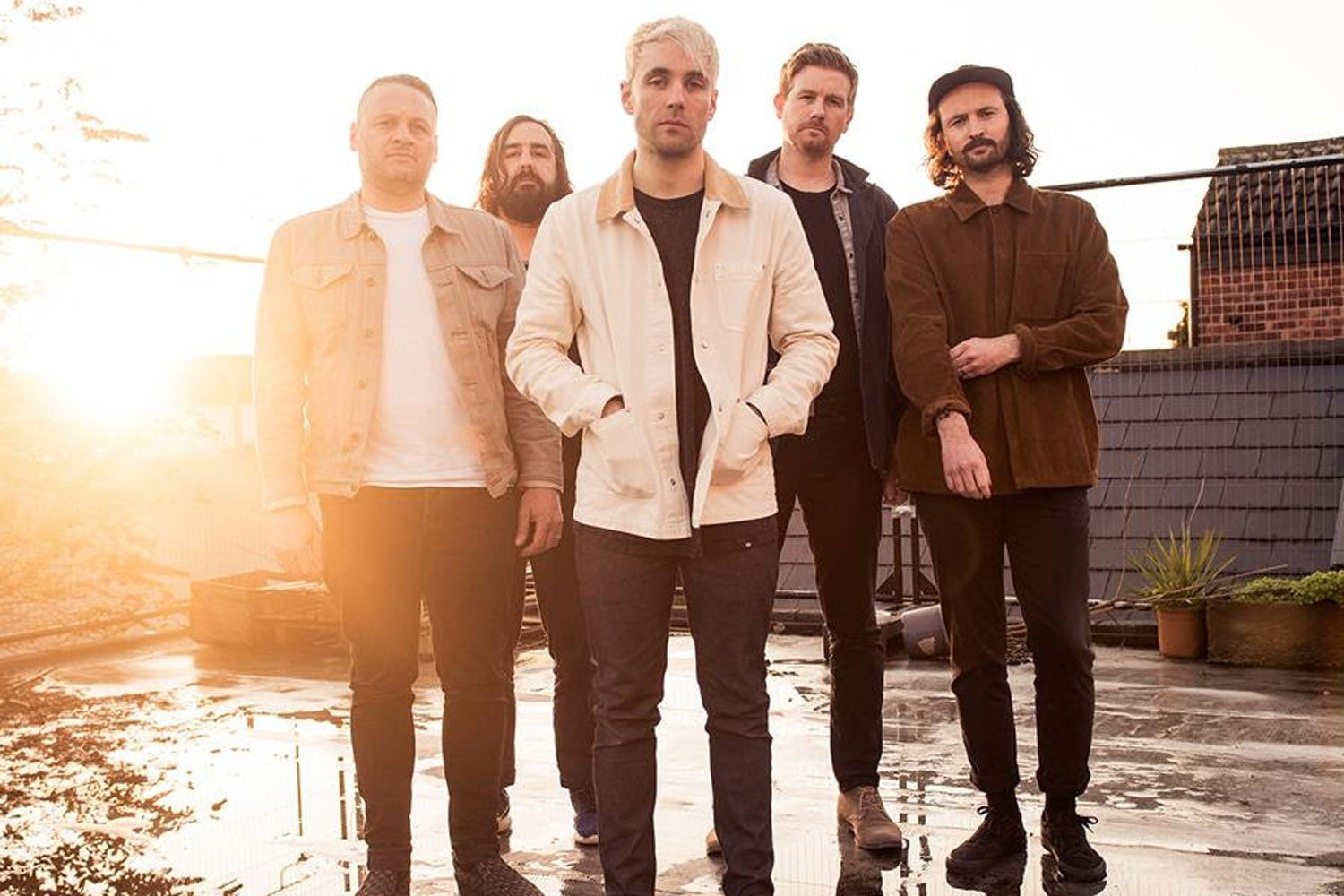 "Lonely the Brave: ""It's not like everyone's had a massive bust-up and people are falling out"""