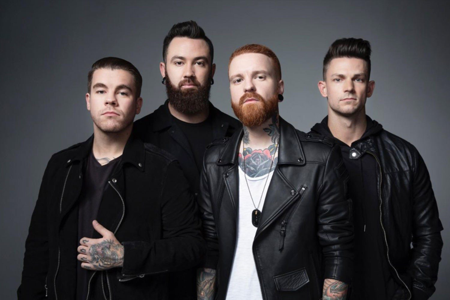 Memphis May Fire are coming over for a UK tour this December