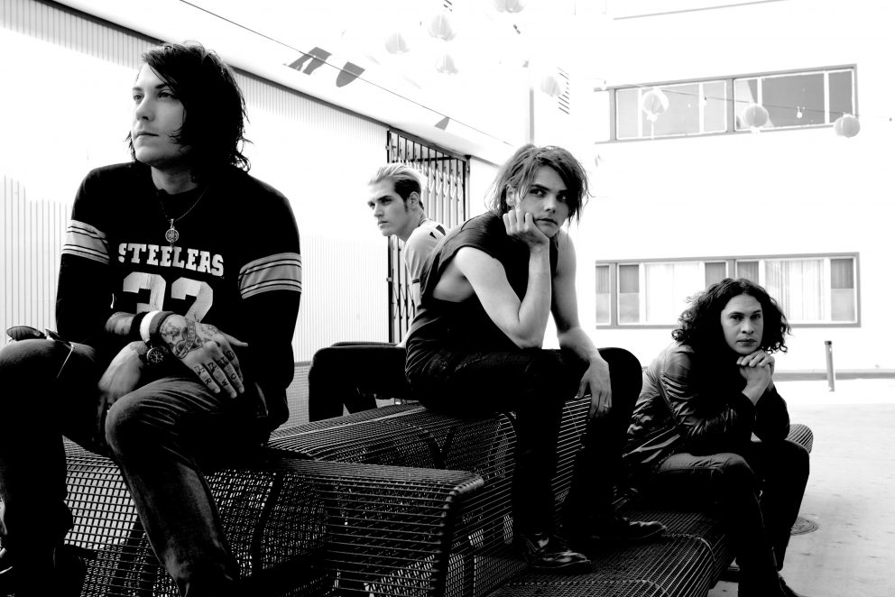 My Chemical Romance have shared their first picture since reuniting