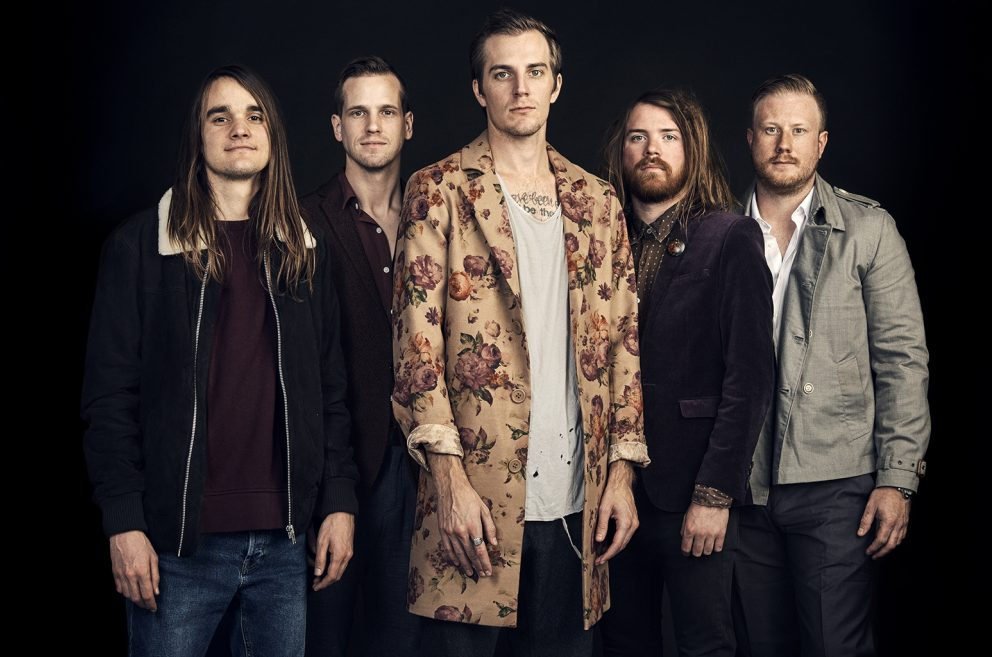 """With their new album, The Maine are spreading a message of hope: """"I wanted to put an emphasis on mental health"""""""