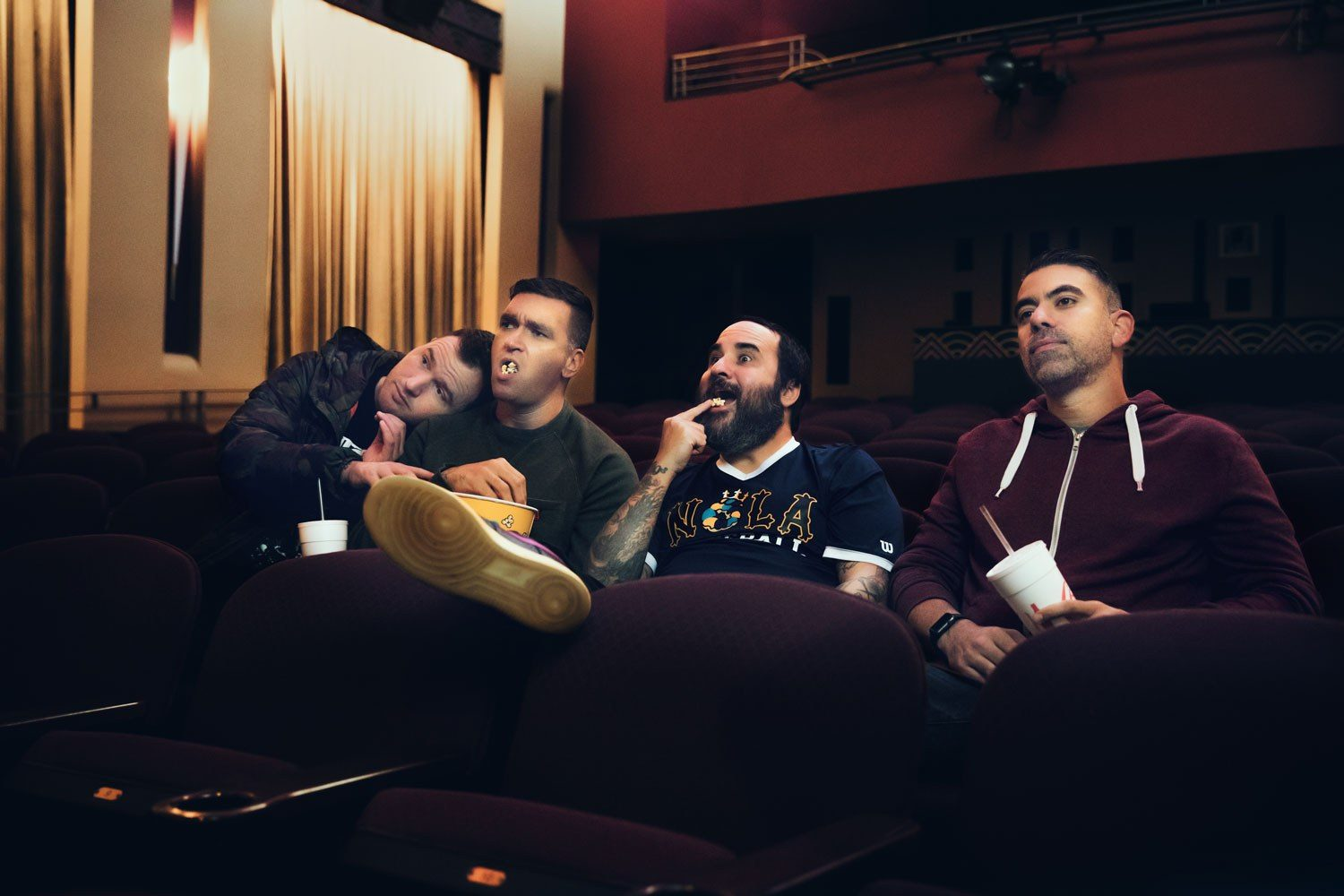 New Found Glory have dropped a video for their cover of Survivor's 'Eye of the Tiger'