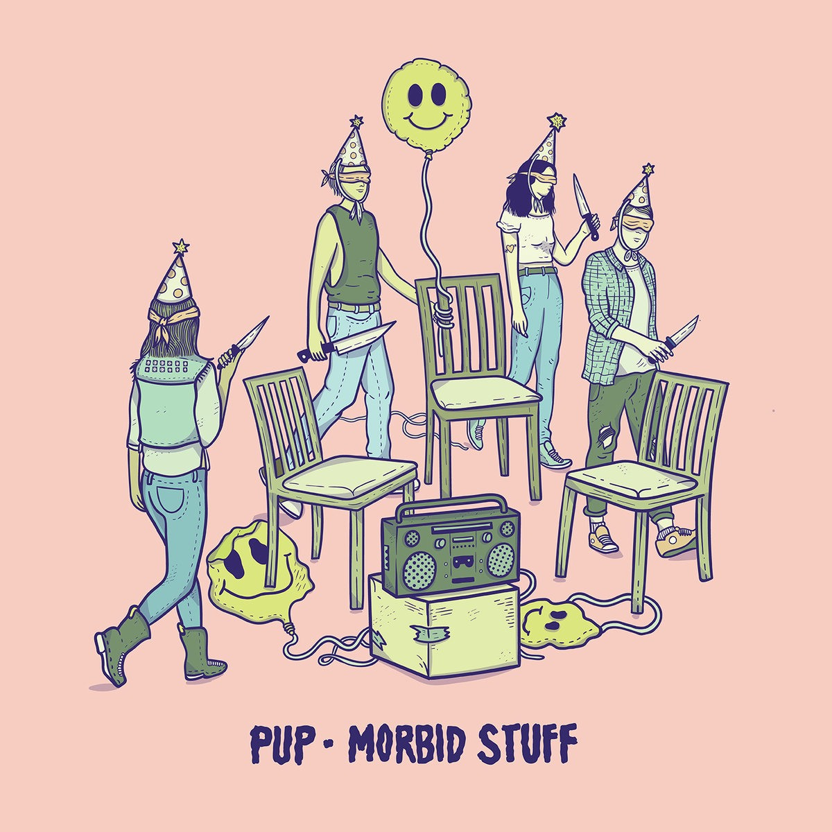 PUP's 'Morbid Stuff' should find happy bedfellows in fans old and new