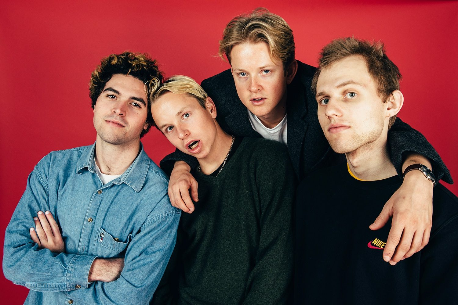SWMRS have cancelled their remaining 2019 shows following a bus crash that's put vocalist Max Becker in intensive care