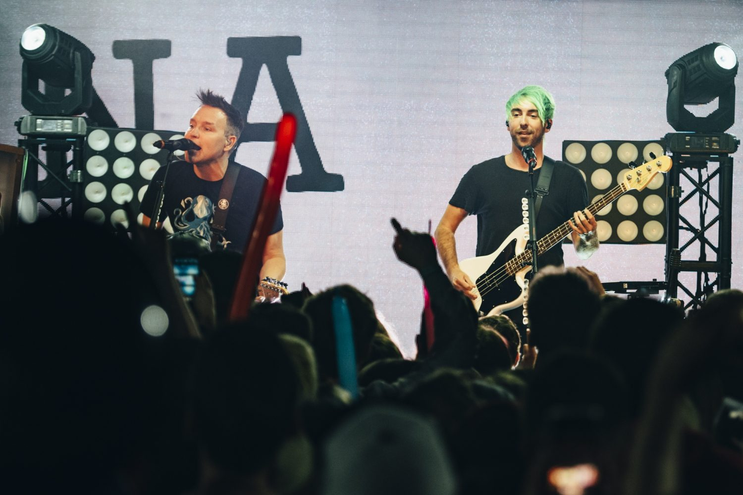 Check out a brand new track from Mark Hoppus and Alex Gaskarth's Simple Creatures, 'Special'