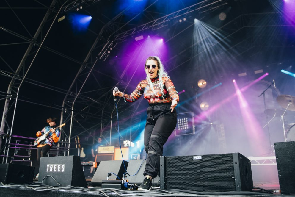 Vukovi performed to an enthusiastic crowd at 2000trees 2019