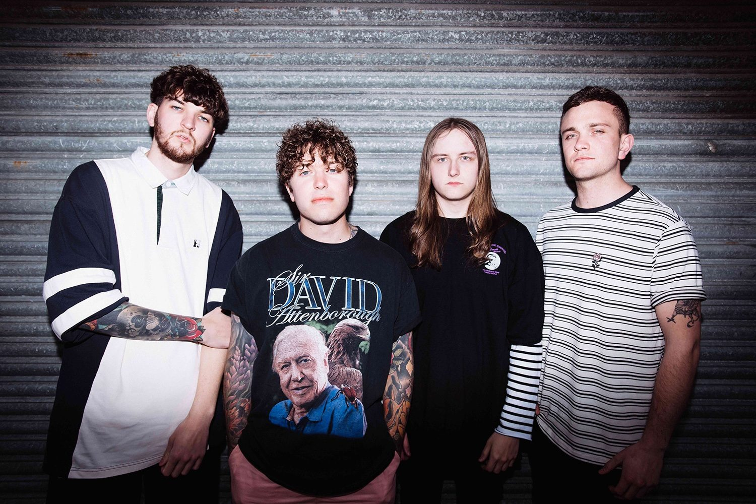 WSTR try their hand at telly in their new video for 'Crisis'