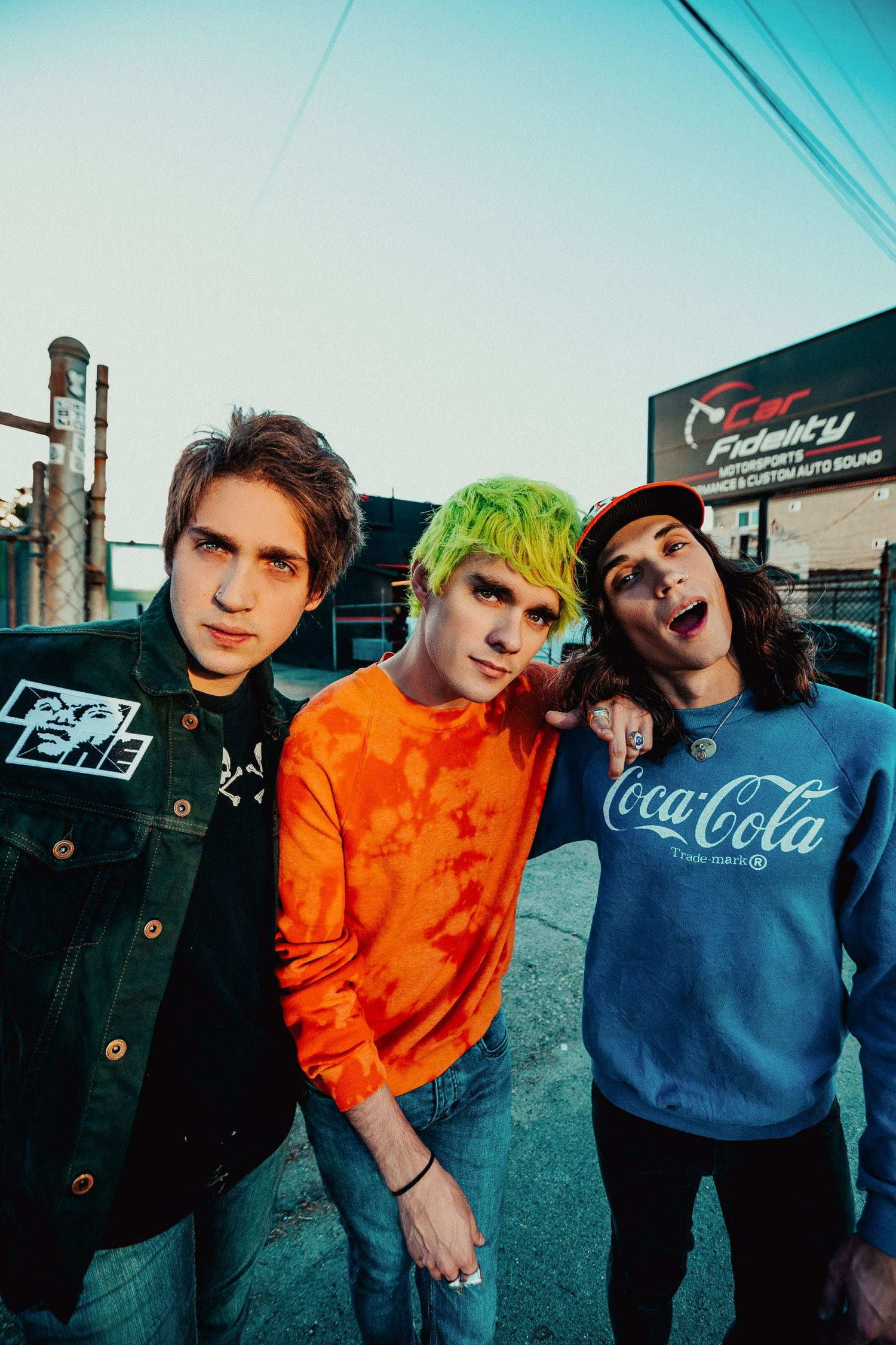 """Waterparks kick back: """"People are always mad about some shit"""""""