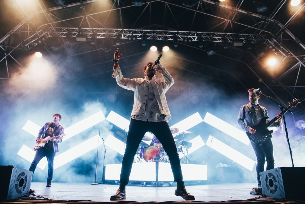 You Me At Six work their magic at the top of the bill for 2000trees 2019