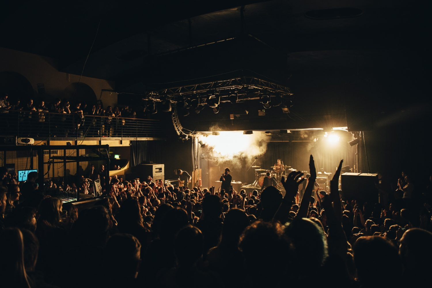 This is what You Me At Six's lil show at Scala  looked like