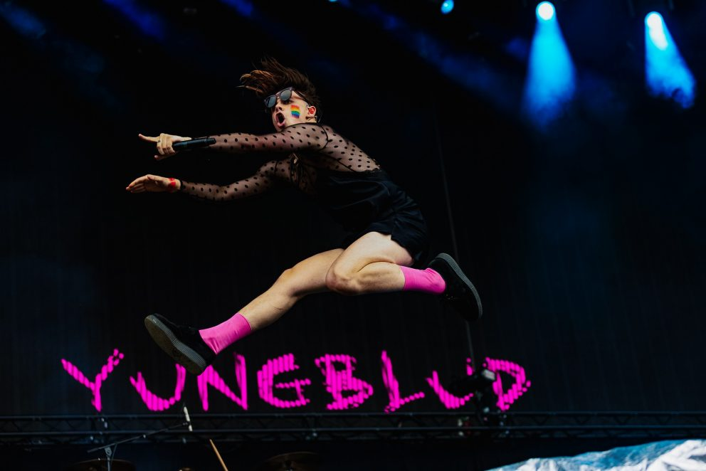 Upset cover star Yungblud played Rock Werchter this weekend, and it was brilliant