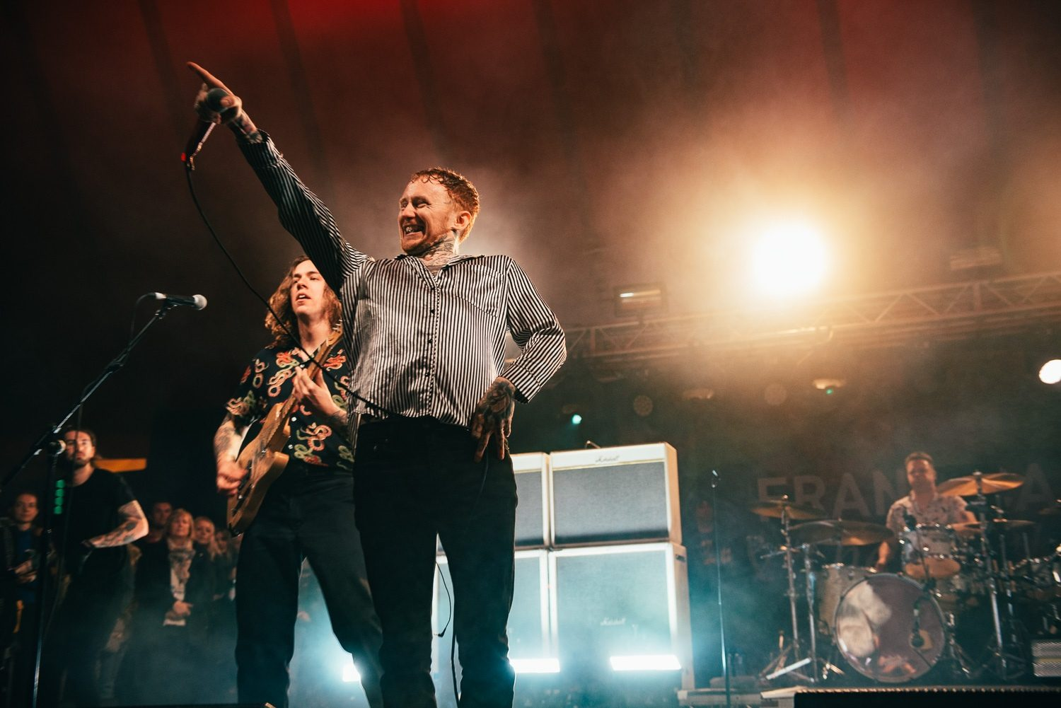 Frank Carter takes Reading 2018 by surprise with a set on The Pit Stage
