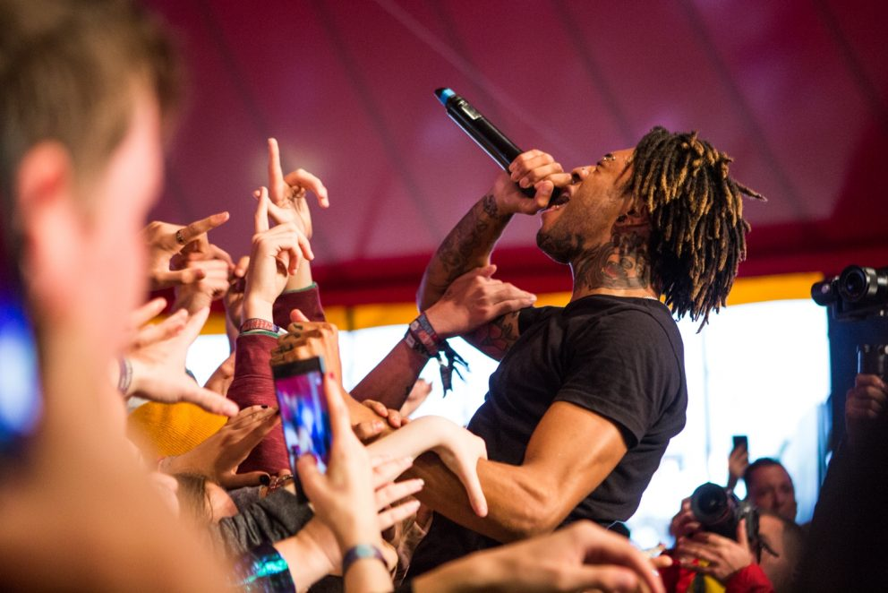 Scarlxrd is a superstar in the making at Reading Festival