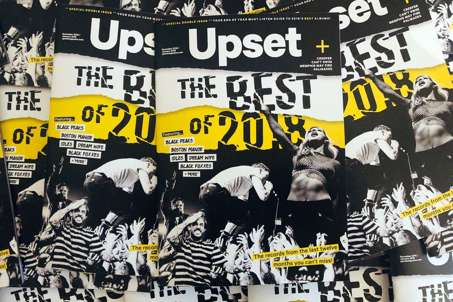 The new issue of Upset, featuring the best of 2018, is out now