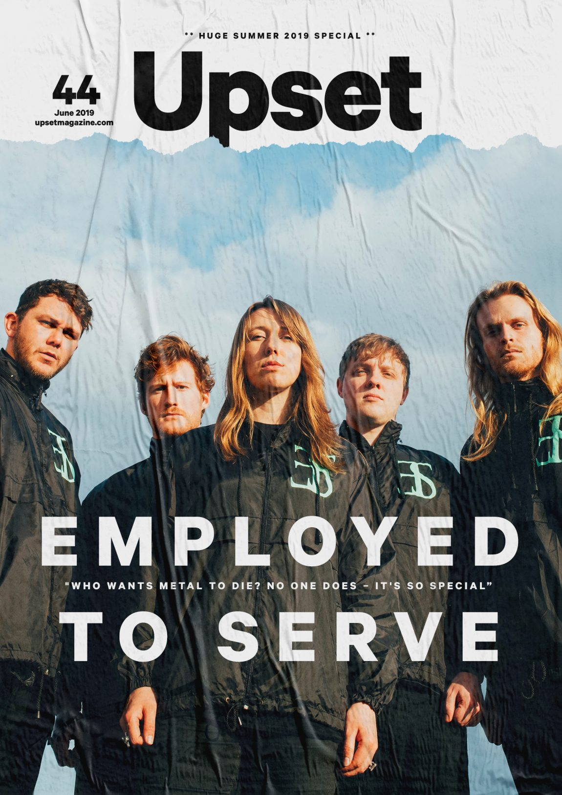 June 2019 (Employed to Serve cover)