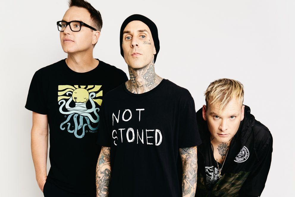 The new issue of Upset is out this week, and blink-182 are on the cover!