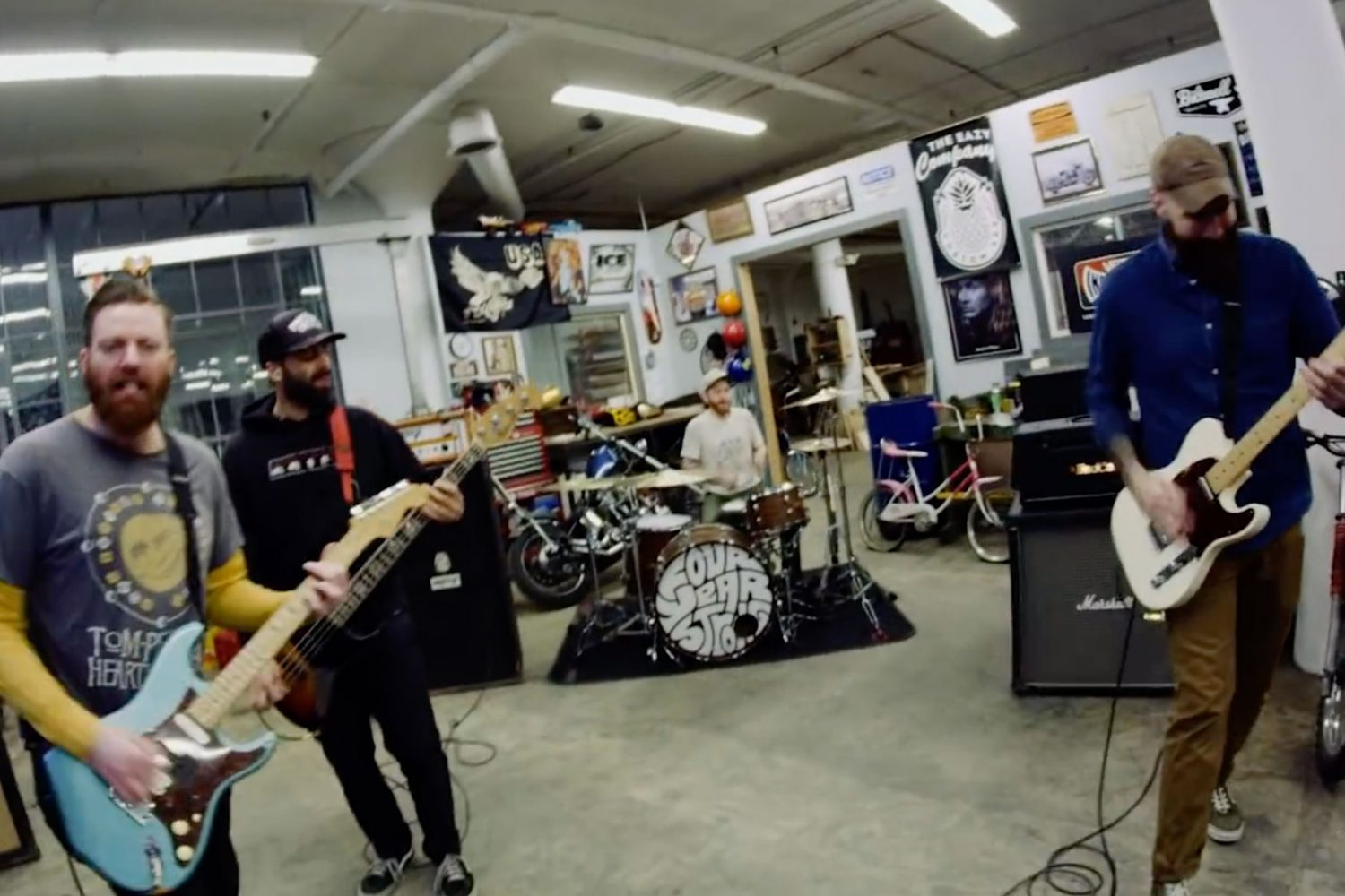 Four Year Strong have shared a new video for 'Learn To Love The Lie'