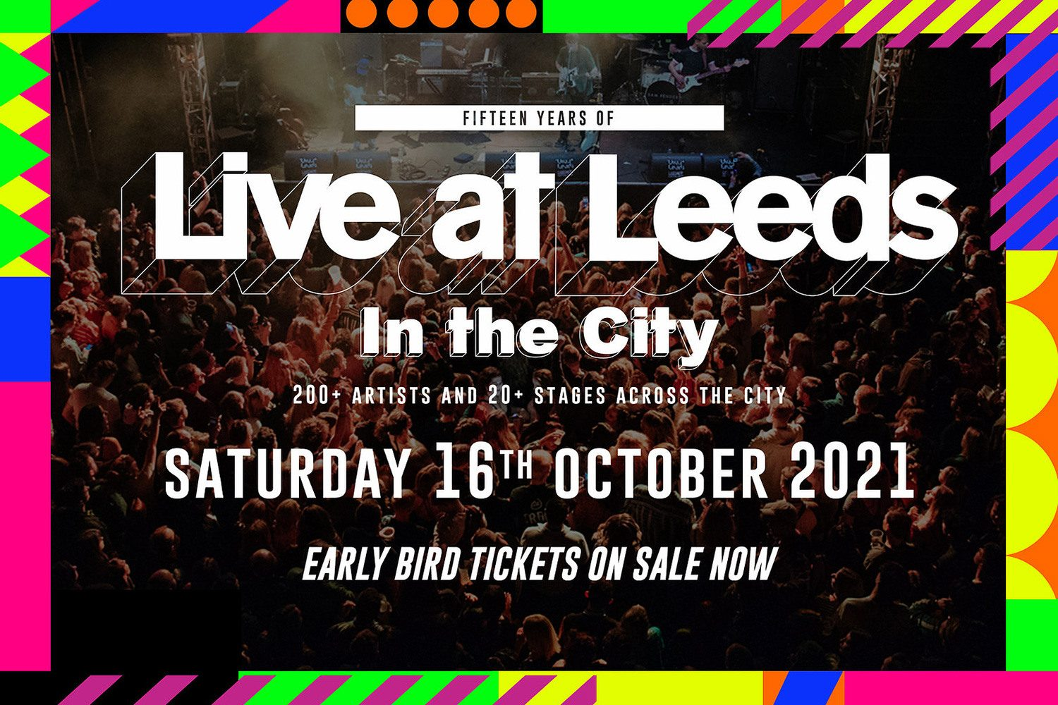 Live At Leeds has confirmed it will be going ahead this year