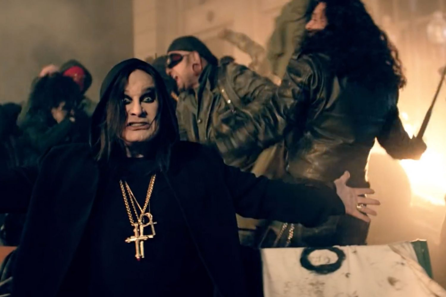 Ozzy Osbourne has released a new video for 'Straight To Hell'