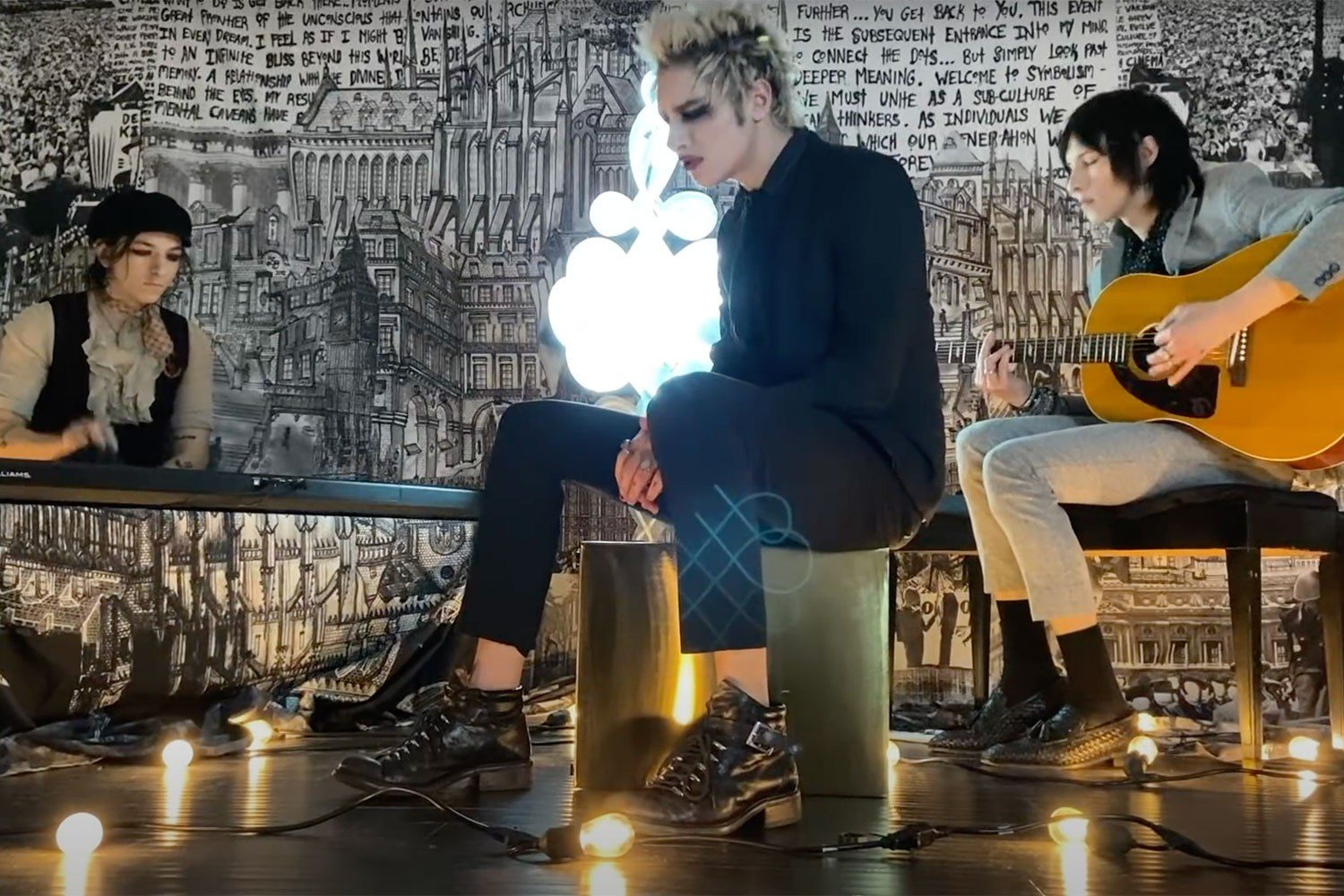 Watch Palaye Royale perform 'Hang On To Yourself' in a super-fancy lockdown session