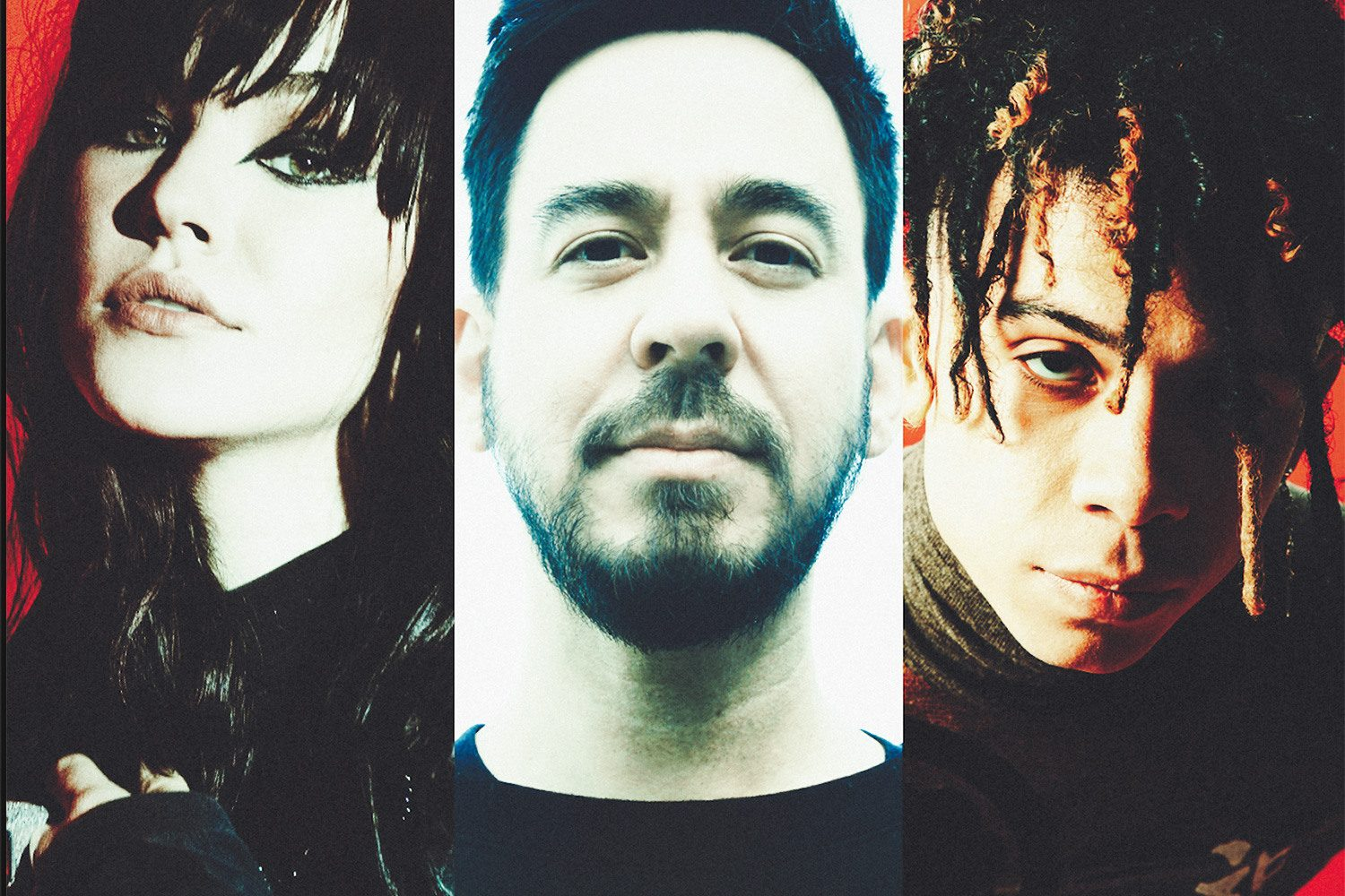 Mike Shinoda has teamed up with Iann Dior and UPSAHL for his new single, 'Happy Endings'