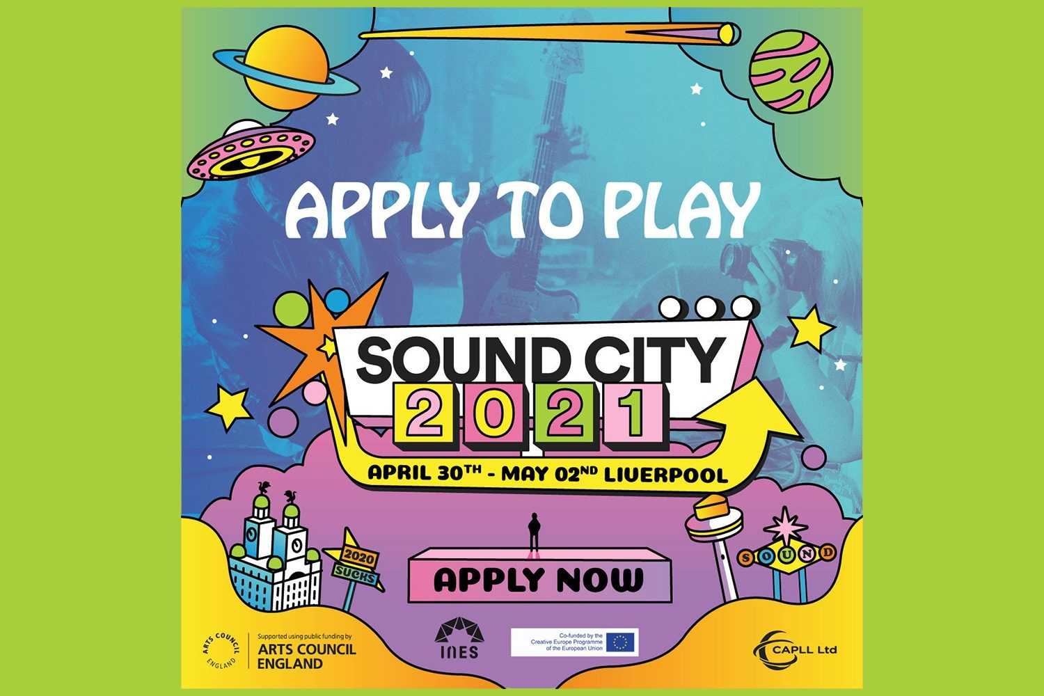 Want to play Sound City? The Liverpool festival's Apply To Play programme is open