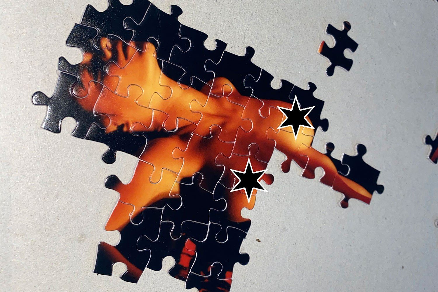 These New Puritans have released some jigsaw puzzles to raise money for charity