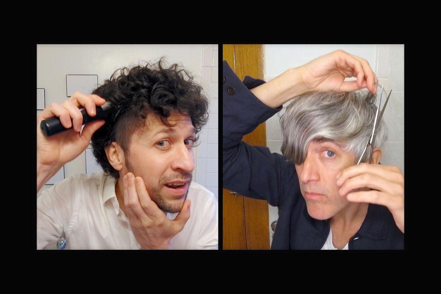 We Are Scientists have released an against-the-clock DIY haircut video for their single, 'I Cut My Own Hair'