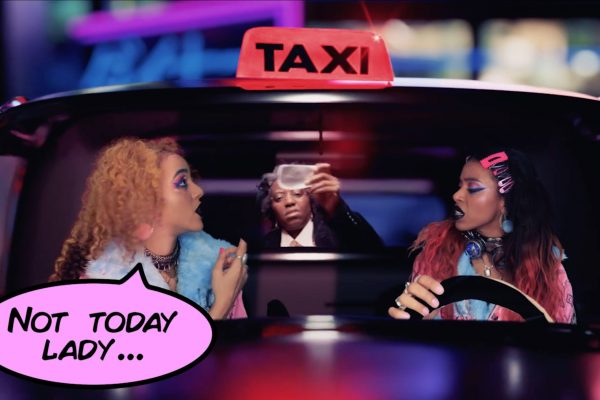 Nova Twins are taxi-driving hit-girls in their new video for 'Taxi'