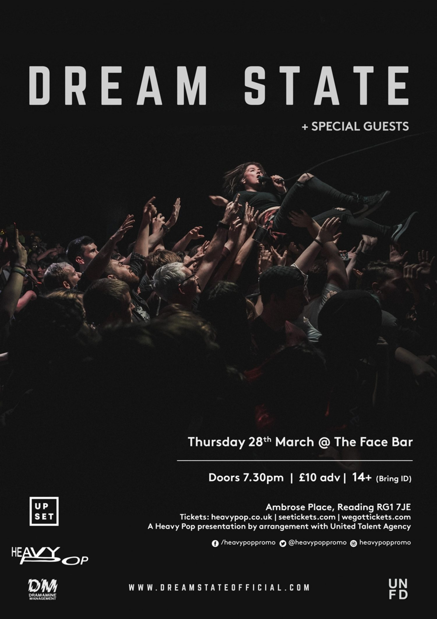Dream State have announced their biggest ever UK headline tour