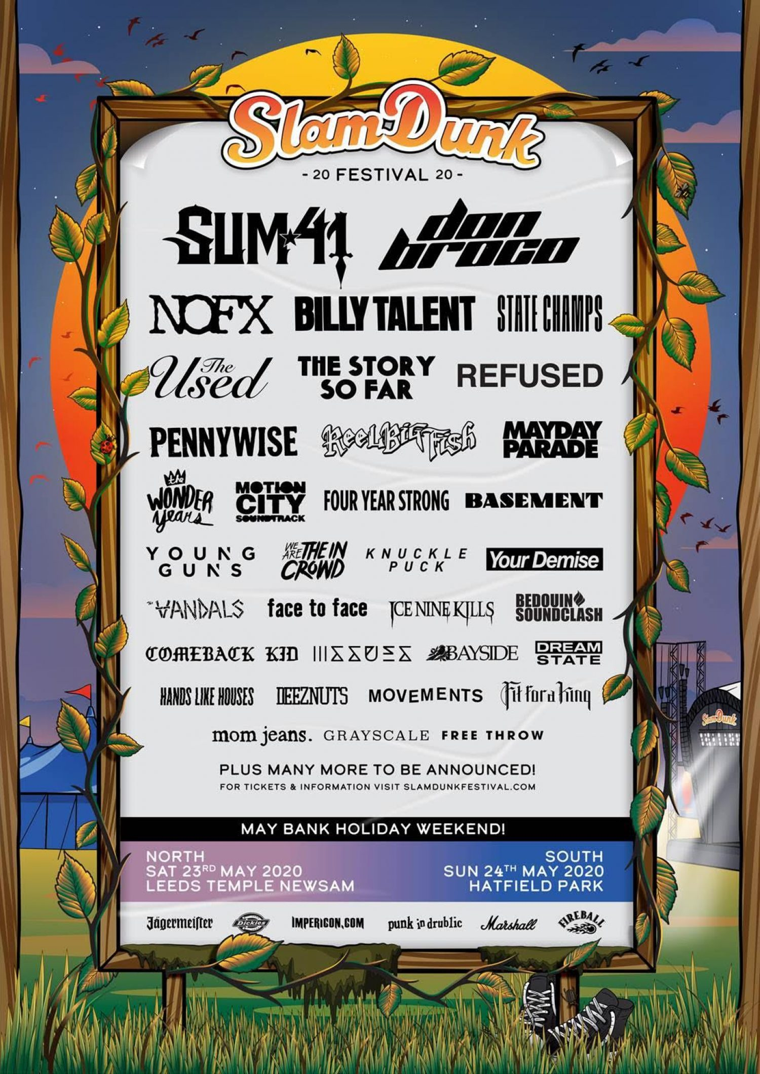 Slam Dunk has confirmed a load more bands, including Young Guns and Refused